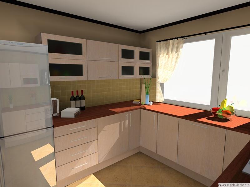 Meble Lamino  Kuchnie oraz meble na wymiar  Wizualizacje 3D